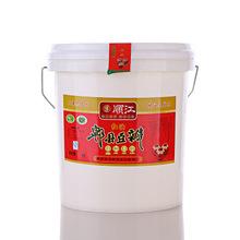 CLHHYDBSLT/川老汇红油郫县豆瓣-塑料桶14kg/桶