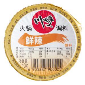 CQHGLXIANL/川崎火锅料鲜辣100g