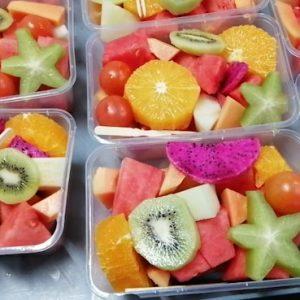 DKFFS/新鲜水果沙拉盒装1kg