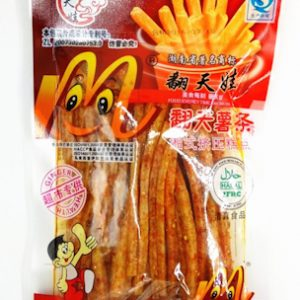 FTWLFTST/翻天娃辣翻天薯条148G