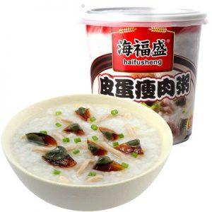 HFSPDSRZ/海福盛皮蛋瘦肉粥37g