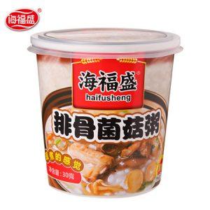 HFSPGJGZ/海福盛排骨菌菇粥38g