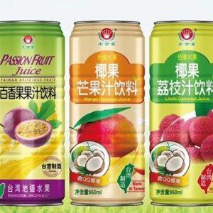 HJFBXGZYL/宏金富-百香果汁飲料(鋁罐)