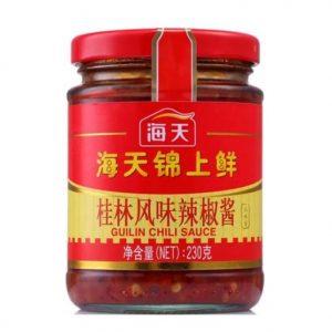HTJSXGLLJJ/海天锦上鲜桂林辣椒酱230g