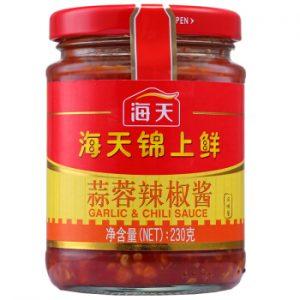 HTJSXSRLJJ/海天锦上鲜蒜蓉辣椒酱230g