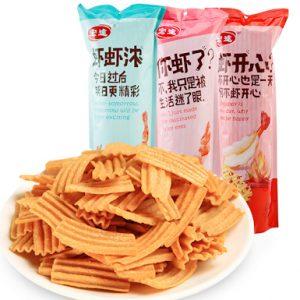 HTXWHSPWL/宏途虾味淮山片微辣90g