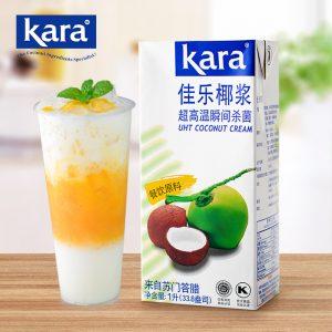 KARACZYJ1L/Kara纯正椰浆1L