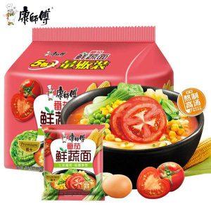 KSFFQXSM/康师傅番茄鲜蔬面101g