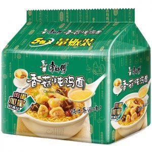 KSFJDWLBXGDJ/康师傅经典五连包香菇炖鸡105gx5包