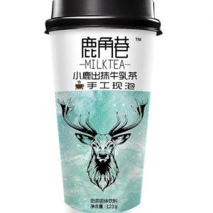 LJXNCXLCMNRC/鹿角巷奶茶小鹿出抹牛乳茶123g