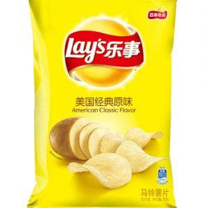 LSSPMGJDYW/乐事薯片美国经典原味70g