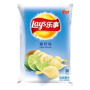 LSSPQNW/乐事薯片青柠味70g