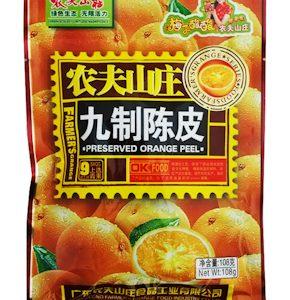 NFSZJZCP/农夫山庄九制陈皮108g