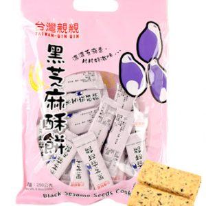 QQHZMB/亲亲-黑芝麻餅袋裝250g/袋
