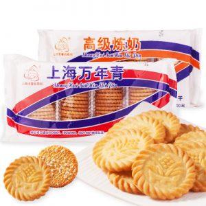 SHWNQBG/上海万年青饼干400g
