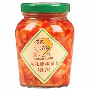 TTXPFWLJLB/坛坛乡牌风味辣椒萝卜210g