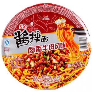 TYLXNRJBM/统一卤香牛肉酱拌面115g