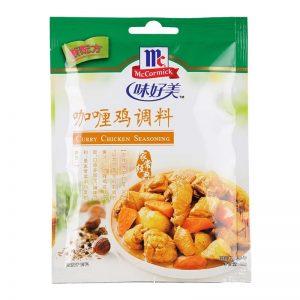WHMPGLJ/味好美牌咖喱鸡调料40g