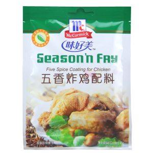 WHMPWXZJ/味好美牌五香炸鸡配料45g