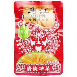 WJQDZC/乌江清淡榨菜(清香)80g