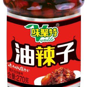 WJTYLZ/味聚特油辣子270g