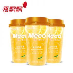 XPPMGJJNM/香飘飘MECO蜜谷果汁金桔柠檬400ml
