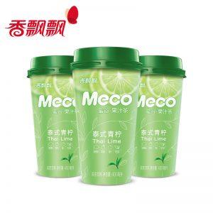 XPPMGTSQN/香飘飘MECO蜜谷果汁泰式青柠400ml