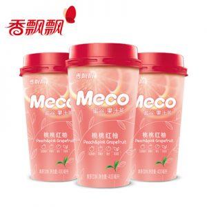XPPMGTTHY/香飘飘MECO蜜谷果汁桃桃红柚400ml