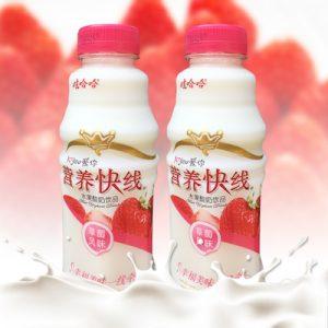 YYKXCM/娃哈哈营养快线草莓味500g