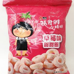 ZJYCMTTQ/张君雅草莓味甜甜圈45g