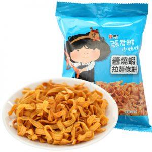 ZJYJSXLMTB/张君雅酱烧虾拉面条饼65g