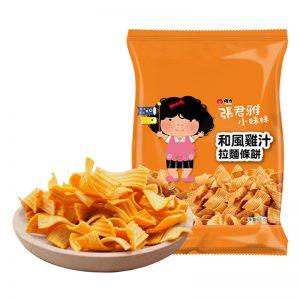 ZJYJZLMTB/张君雅和风鸡汁拉面条饼65g