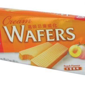 089782004178/Garden Cream Wafers Peach 200g 嘉顿/水蜜桃威化饼