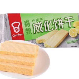 089782014078/Garden Cream Wafers Lemon  Flavor 200g 嘉顿/柠檬味威化饼