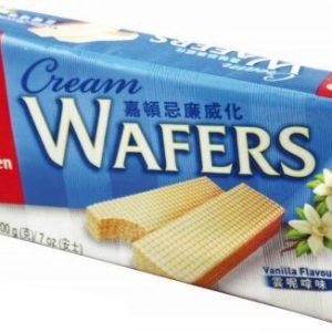 089782016706/Garden Cream Wafers Vanilla  Flavor 200g 嘉顿/云呢拿味威化饼