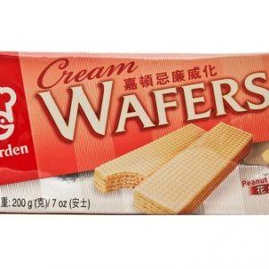 089782019073/Garden Wafers Peanut Flavour 200g 嘉顿/花生味威化饼