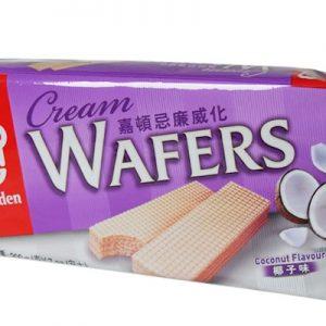089782019103/Garden Cream Wafers Coconut Flavor 200g 嘉顿/椰子味威化饼