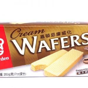 089782019776/Garden Cream Wafers Cappuccino Flavor 200g 嘉顿/意大利咖啡味威化饼