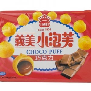 4710126021006/I-MEI  Chocolate Puff 57g义美巧克力味小泡芙