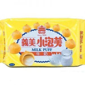 4710126021020/I-MEI Milk Puff 57g义美牛奶小泡芙