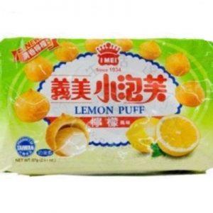 4710126021433/I-MEI  Lemon Puff 57g义美柠檬小泡芙