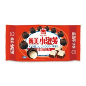 4710126025646/I-MEI  Vanilla Chocolate Puff 57g义美香草巧克力味小泡芙