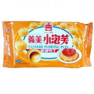 4710126025721/I-MEI Custard Pudding Puff 57g义美鸡蛋布丁小泡芙