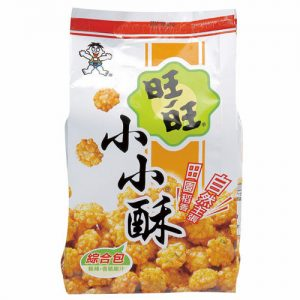 4710144902301/WW Mini Fried Rice Cracker 150g 旺旺小小酥综合包