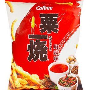 4892294600242/Calbee Grill A Corn - Hot & Spicy 80g卡乐A粟一烧麻辣味80g