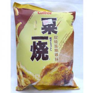 4892294600624/Calbee Grill A Corn - Honey Chicken Flavor 80g卡乐A粟一烧蜜糖鸡肉味