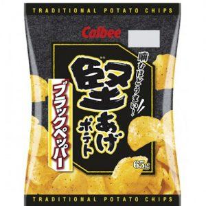 4892294600945/Calbee Grill A Corn -Black Pepper Flavor 60g卡乐A粟一烧黑椒味