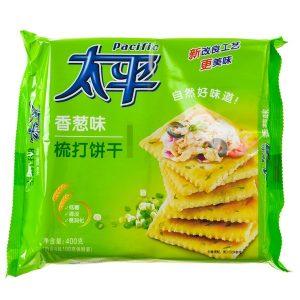 6901668200631/Pacific Shallot Soda Cracker 400g 太平香葱味梳打饼干