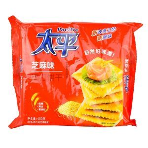 6901668200655/Pacific Sesame Soda Biscults 400g 太平芝麻味梳打饼干