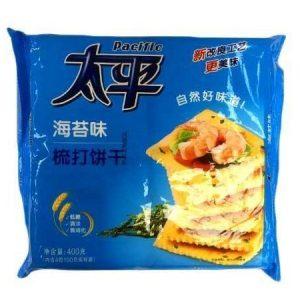 6901668200679/Pacific Seaweed Soda Cracker 400g 太平海苔味梳打饼干